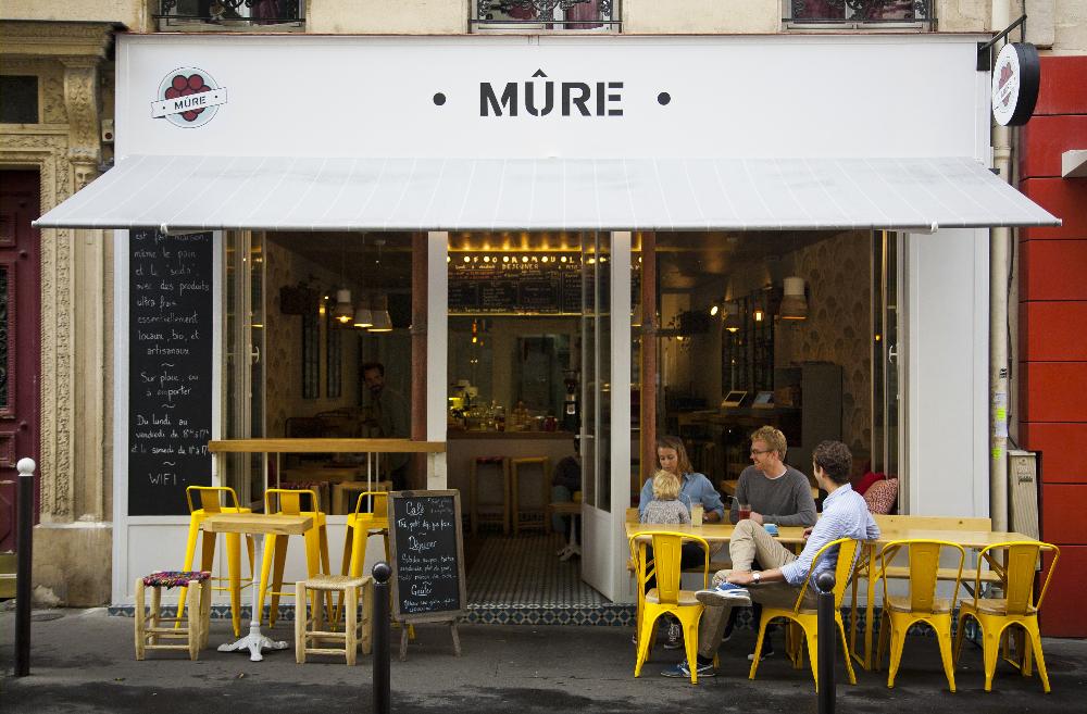 Mûre Extérieur restaurant, Cantine, Maison