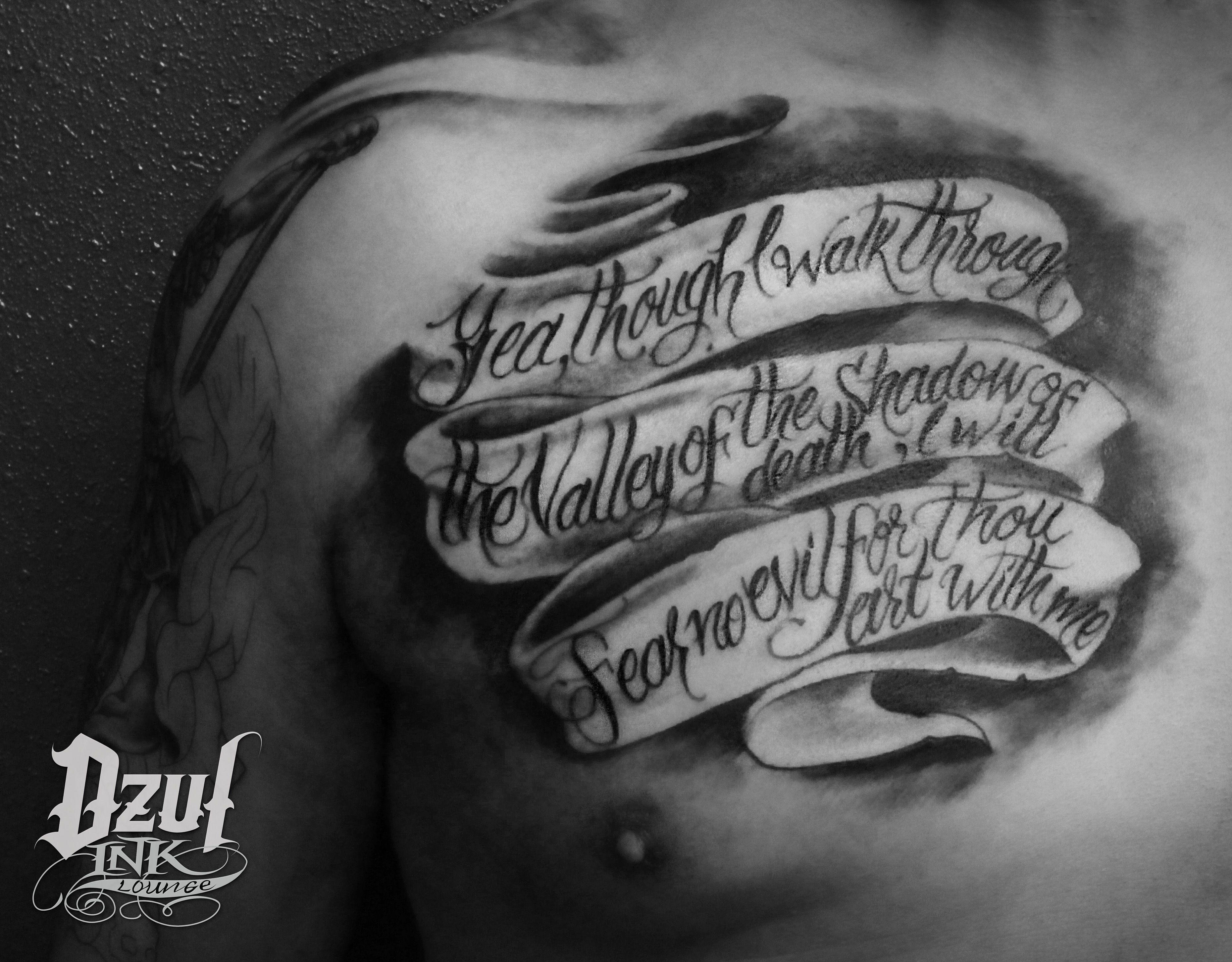 Pin On Dzul Script Text Tattoos