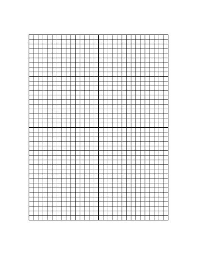 Downloadable Graph Paper grid paper Printable graph paper, Graph