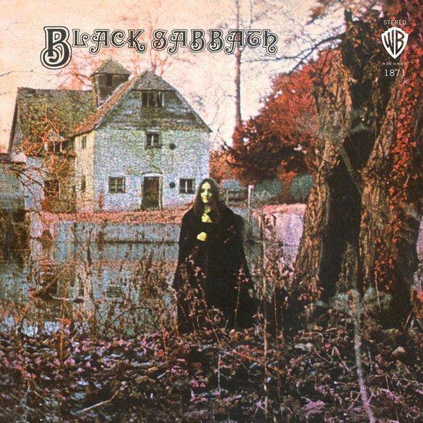 Black Sabbath Black Sabbath 180 Gram Vinyl Limited Edition Red Colored Vinyl Lp Reco Black Sabbath Album Covers Rock Album Covers Black Sabbath Albums