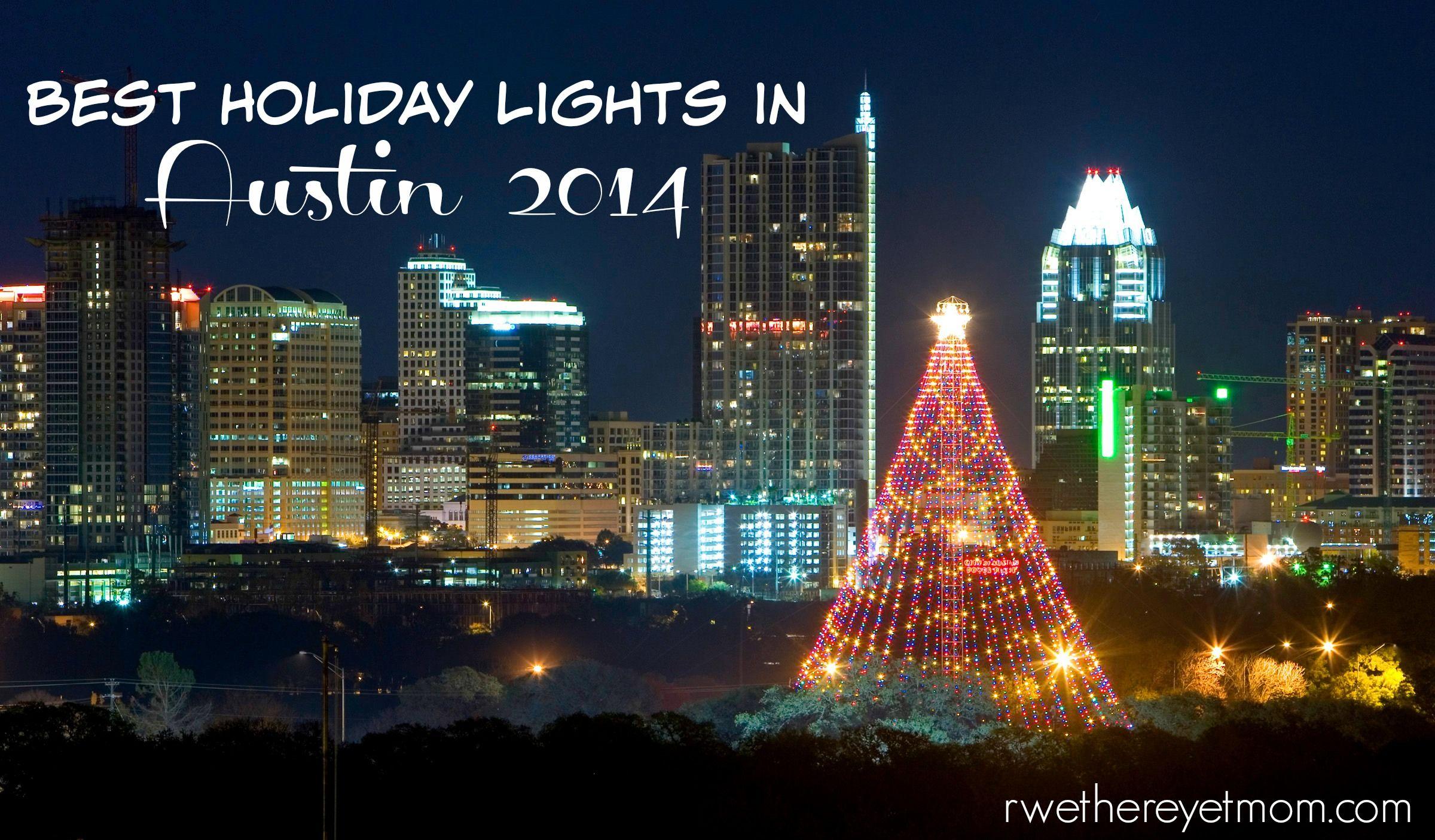 Holiday Light Displays Christmas Lights Austin Tx Holiday Lights Display Austin Events Christmas Lights
