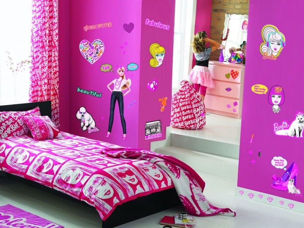 Barbie Bedroom Furniture7 house Barbie bedroom, Barbie