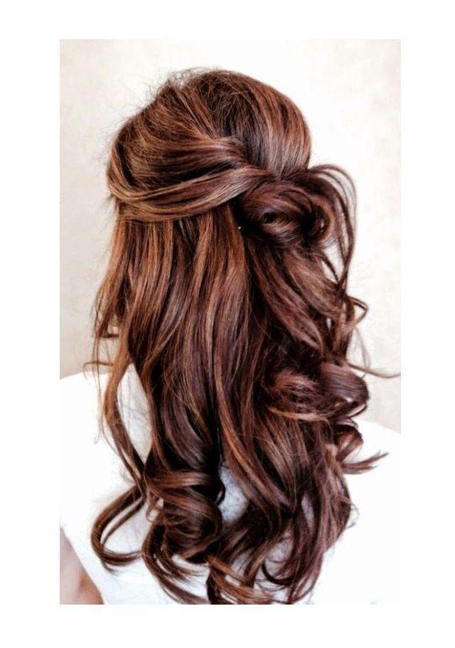 15 Fabulous Half Up Half Down Wedding Hairstyles Long Hair Styles Hair Styles Elegant Wedding Hair