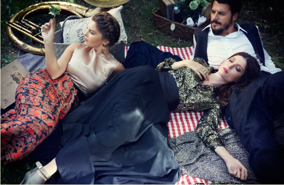 Pelin Karahan Turkish Actress Olaf Wipperfurth For Vogue Turkey