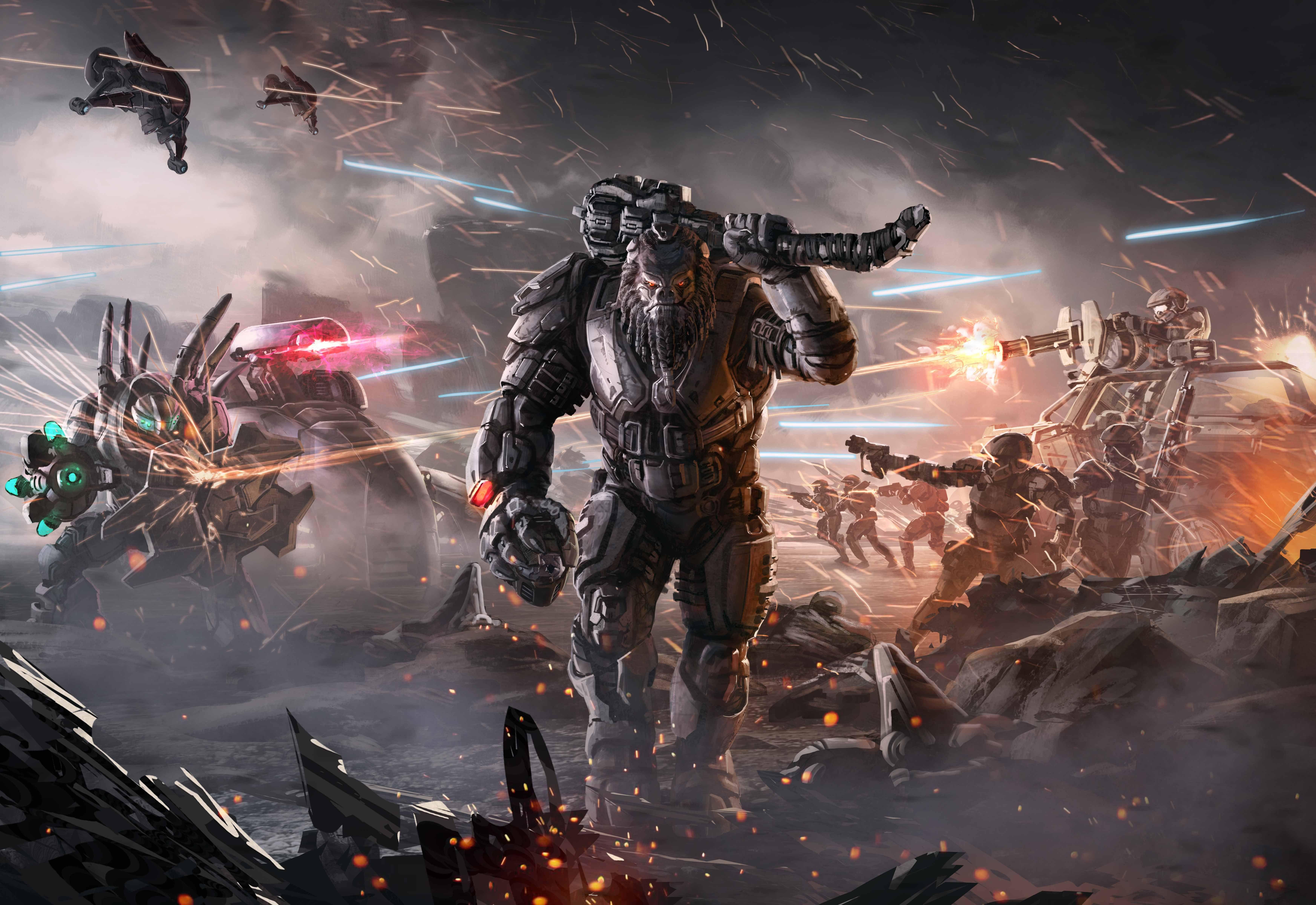 Halo Wars Wallpaper Game Wallpapers