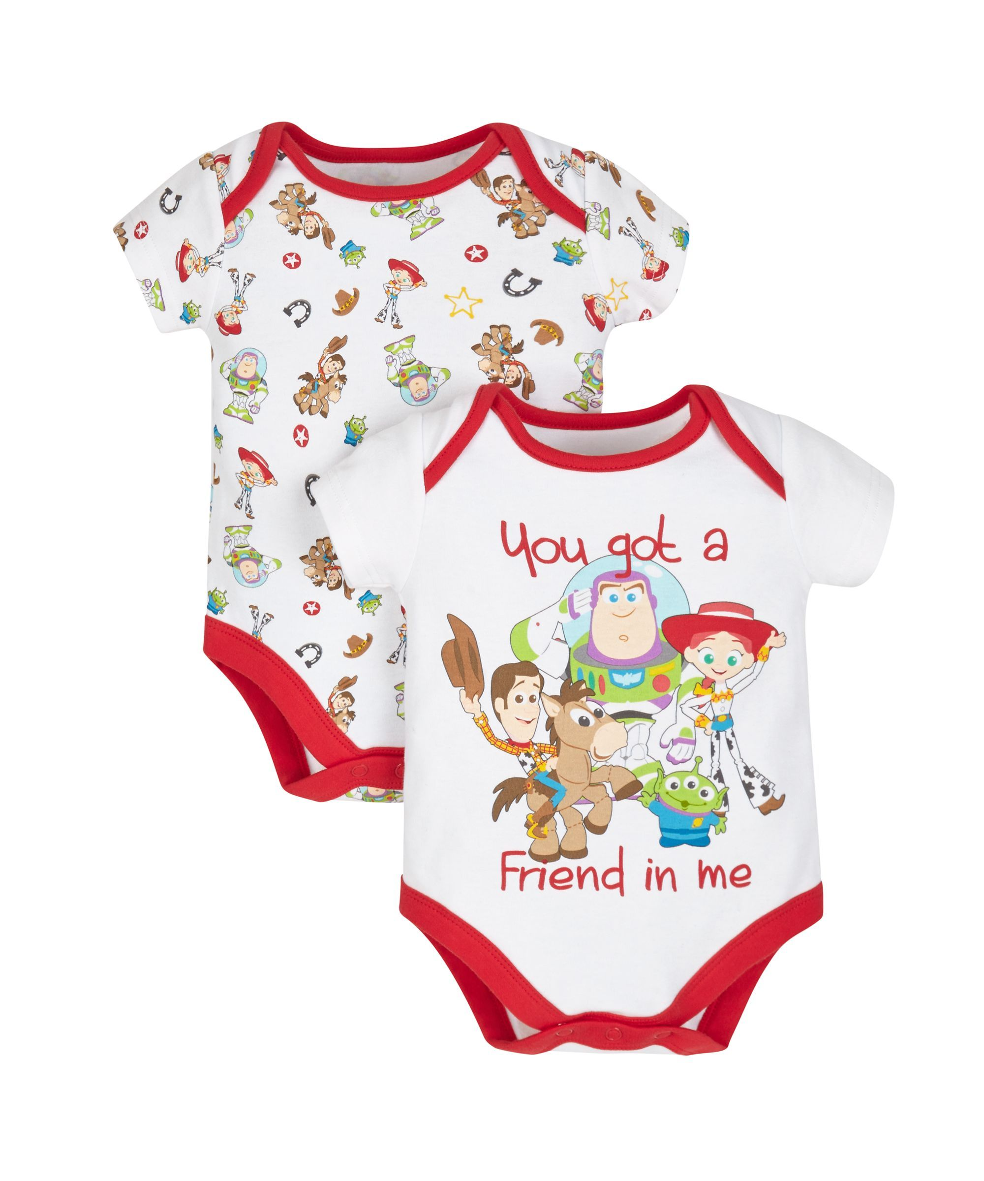 776bdbc5f Disney Toy Story Bodysuits - 2 Pack | Nursery Ideas | Disney baby ...