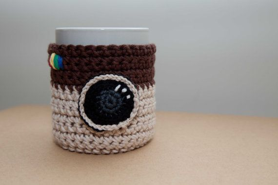 Funda taza | crochet y otros tejidos | Pinterest | Tejido, Ganchillo ...