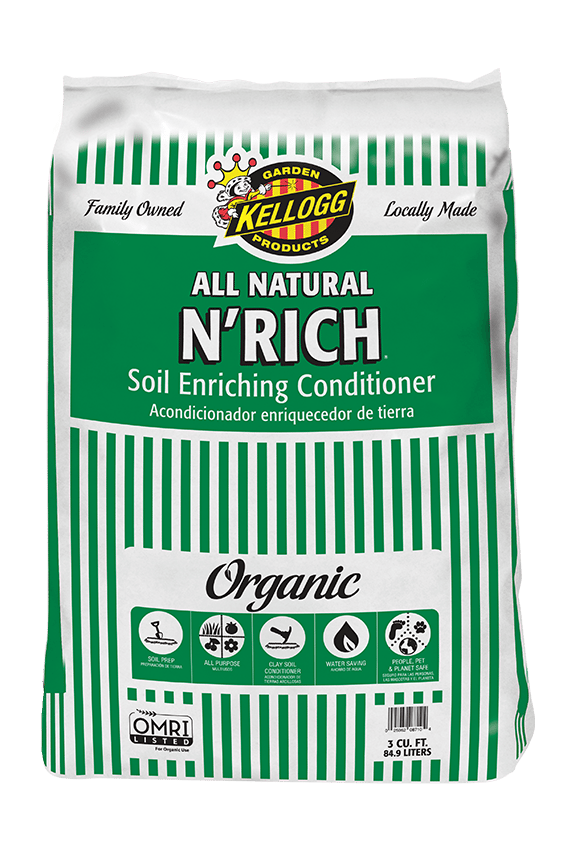 Kellogg Garden Organics All Natural N'Rich Soil Enriching