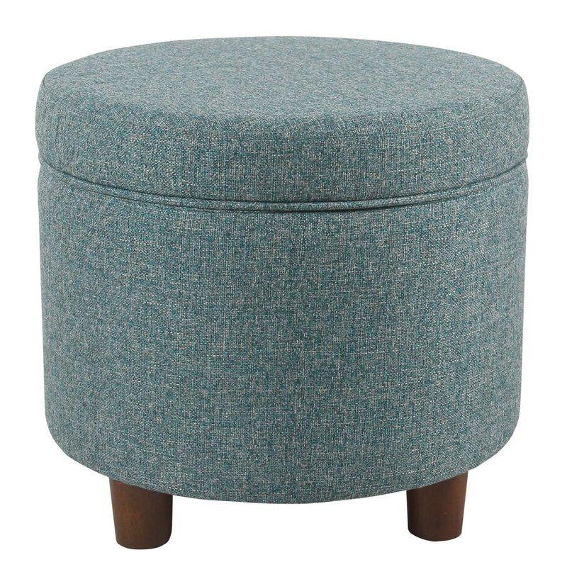 Strange Hazeltine Round Storage Ottoman 1610H Round Storage Pabps2019 Chair Design Images Pabps2019Com