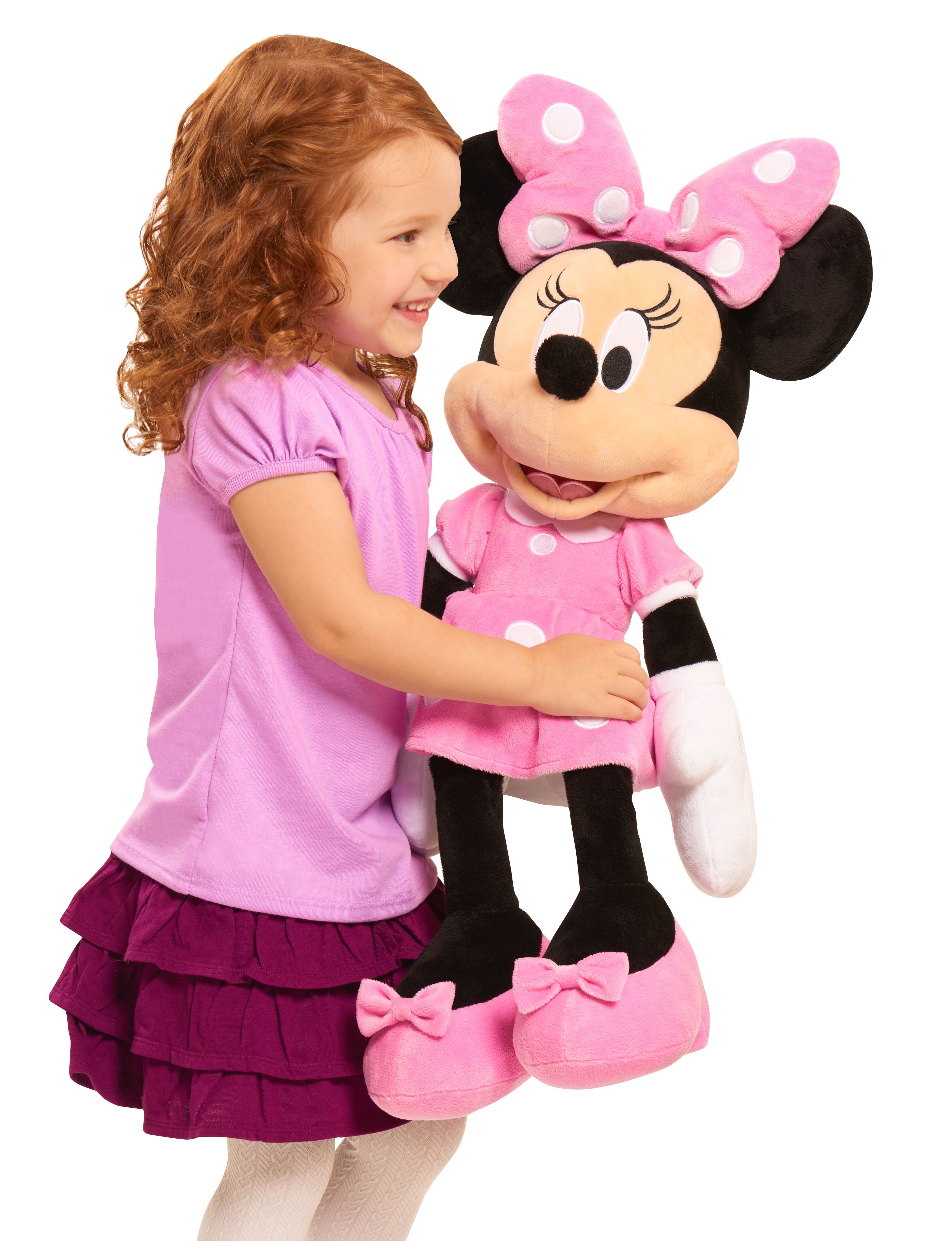 The Disney Minnie Mouse Large Plush is a lovely addition