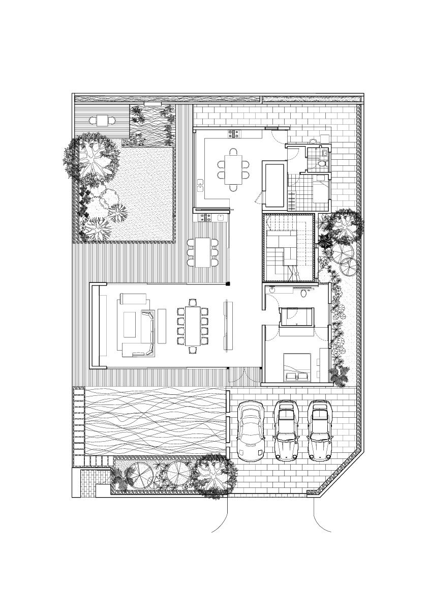 Stylish Bungalow Inspired Residence in Singapore: Sunset Terrace ...