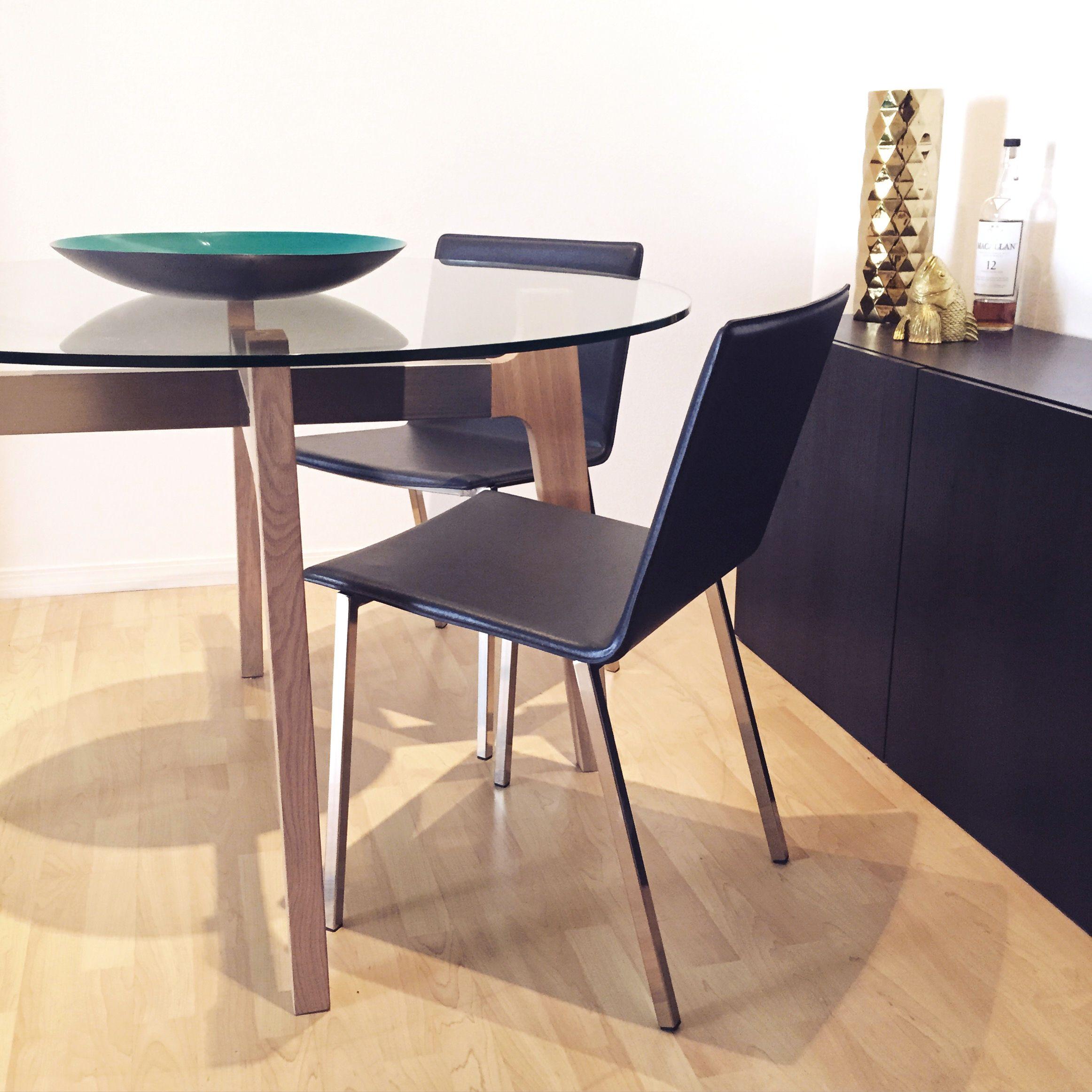 Dining Room Furniture Phoenix: Brace Dining Table & Phoenix Chairs