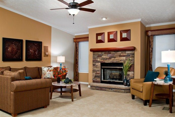 Wall color.. Mobile Home Remodeling Ideas   Clayton Rutledge Homes   Doublewide Dreams ...