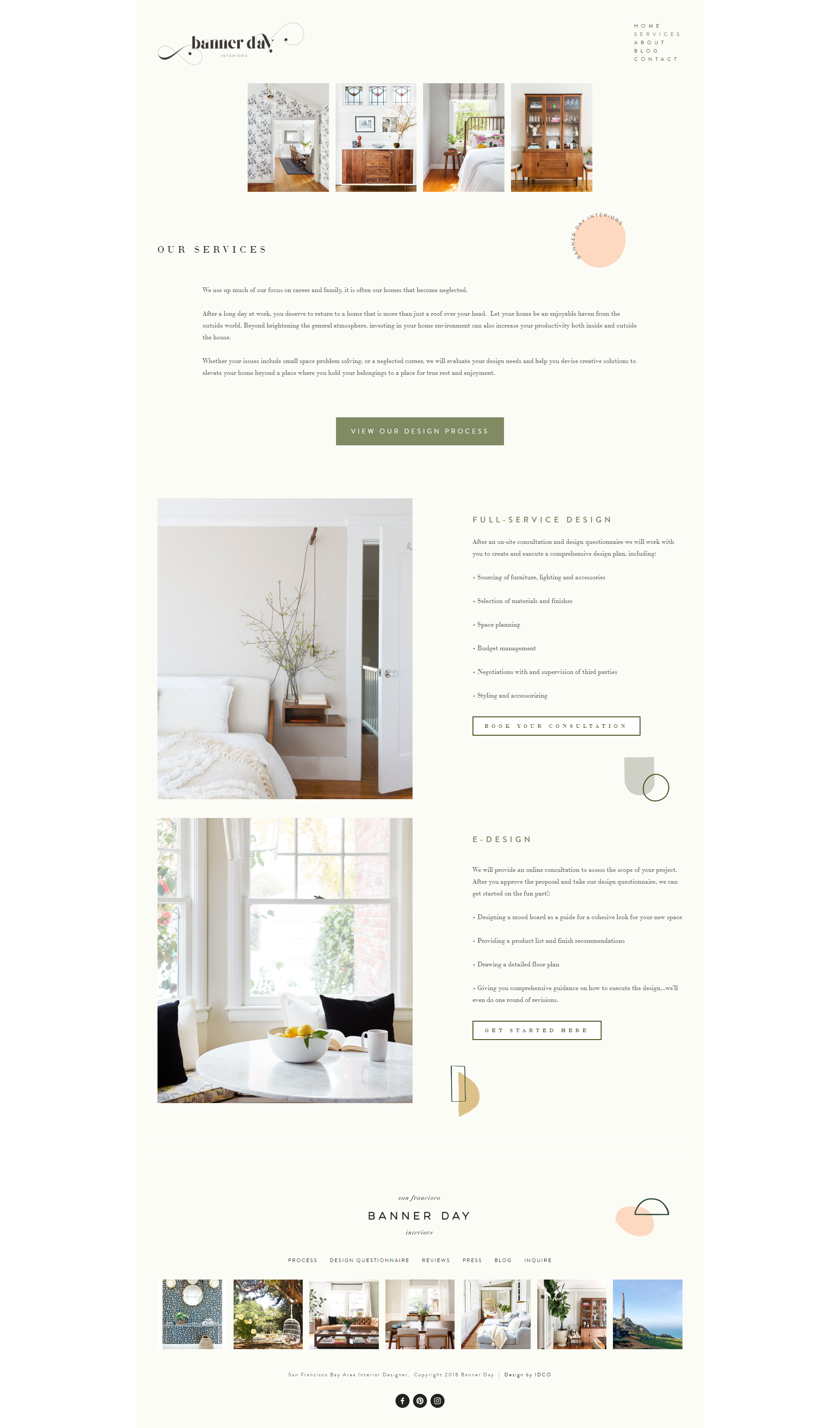 The Identite Collective Branding Web Design And Content Creation For Interior Designers And Lifestyle Brands B Web Design Company Design Company Web Design