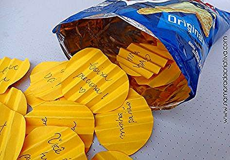 Photo of chips origami