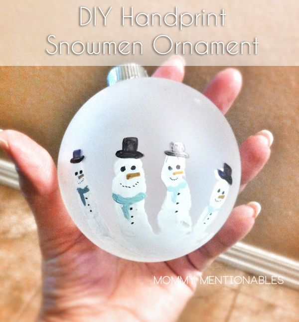 Three Easy Keepsake Ornaments to make with the Kids  Ornament