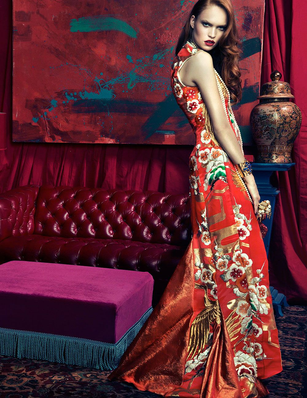 Luisa Bianchin by An Le for Harper's Bazaar Vietnam December 2012. #fashion #photography