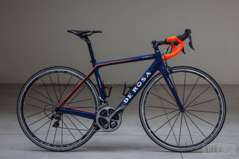 De Rosa King XS Shimano Dura-Ace 9000 Fulcrum Carbon Road Bike 47cm ...