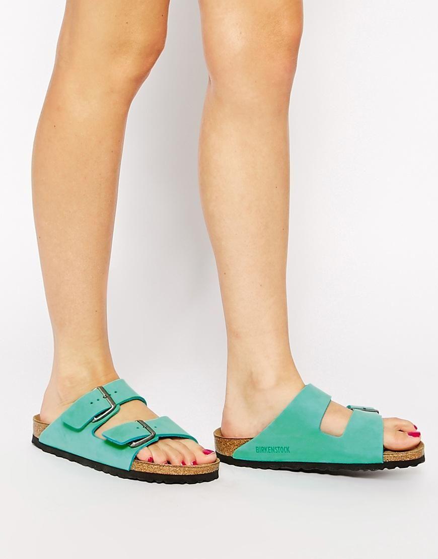 Sandale En Daim Velours Menthe Natalie LFyHeny