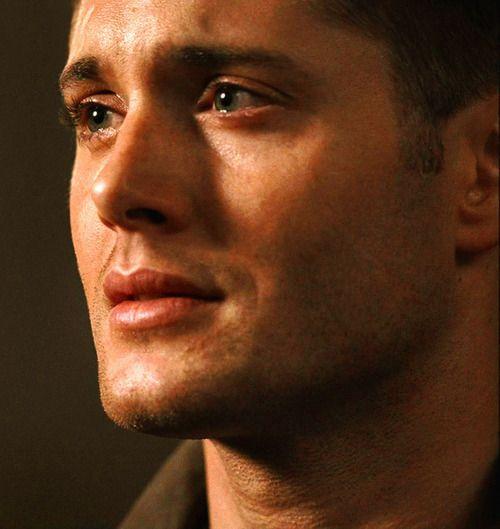 картинки сверхъестественного актеры со слезами на глазах если
