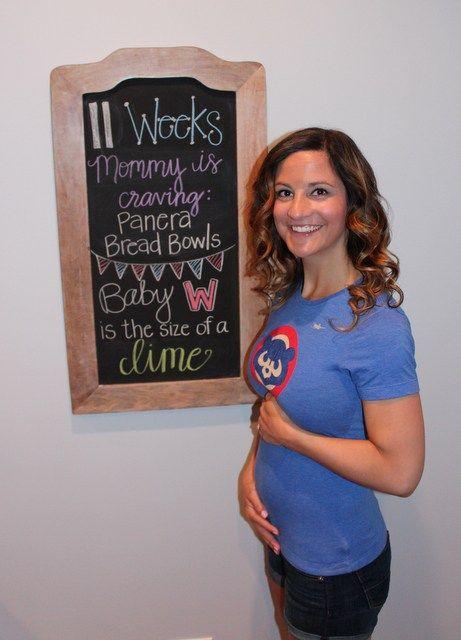 11 Weeks pregnant pics