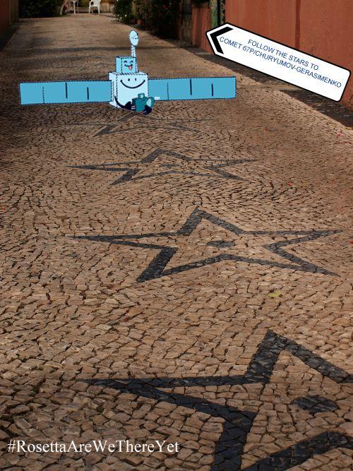t#RosettaAreWeThereYet #space #NASA #Rosetta #stars   #ESA