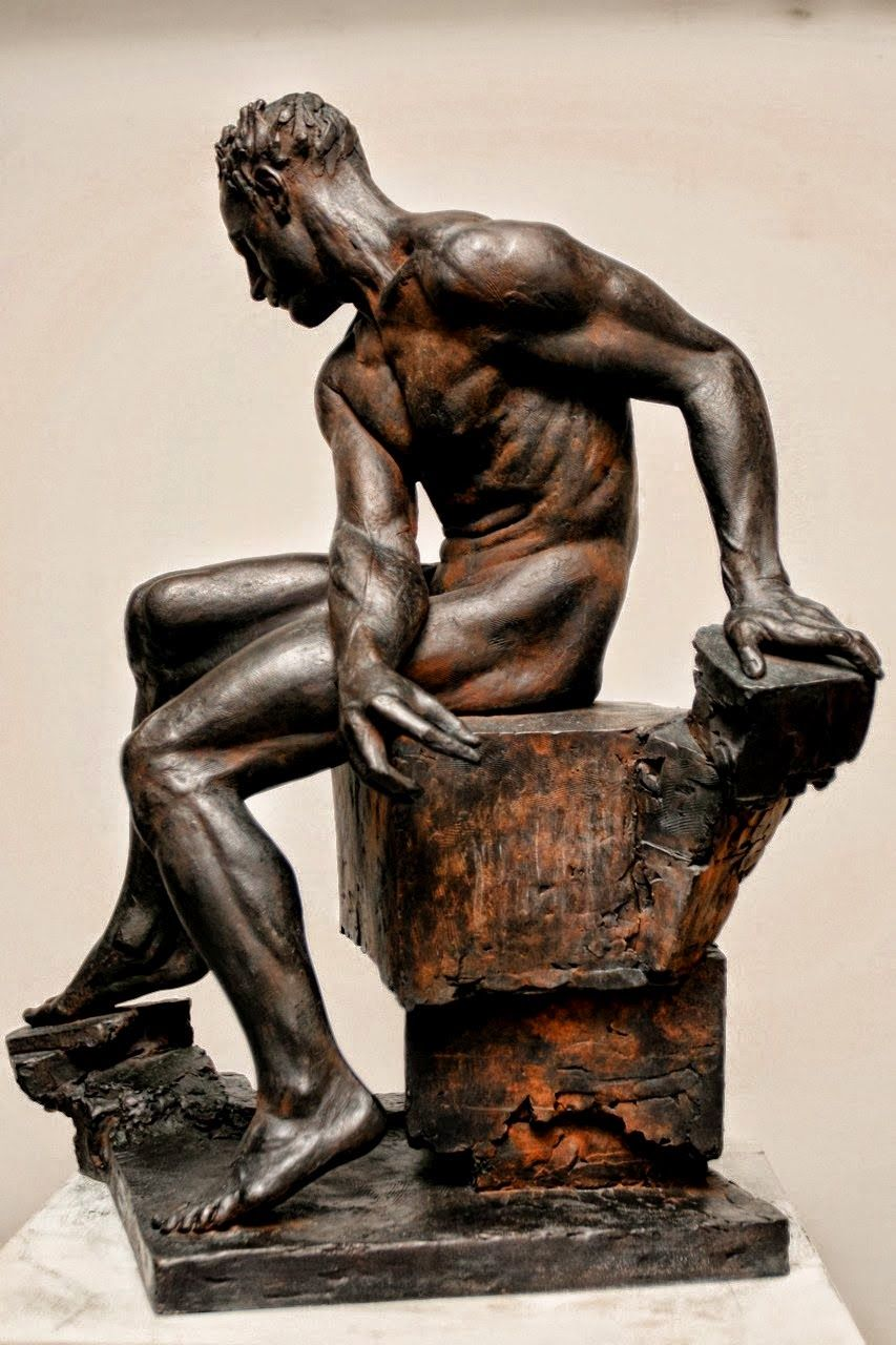 brown - man - Howard Sabin - figurative sculpture | Sabin Howard ...