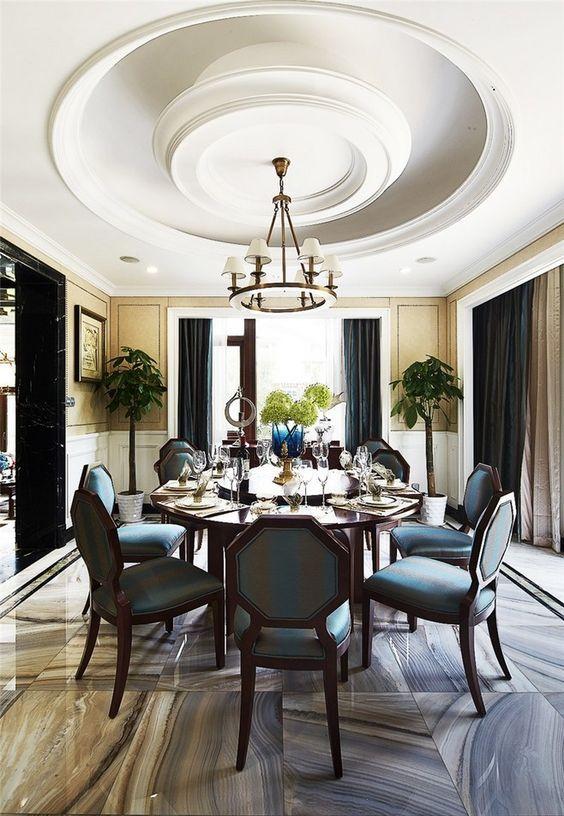 Colours Luxe interiors Pinterest Comedores, Comedor elegante y