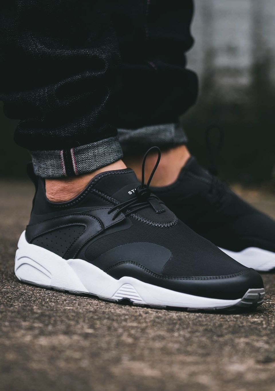 Footwear: Stampd x PUMA Blaze of Glory Nu .