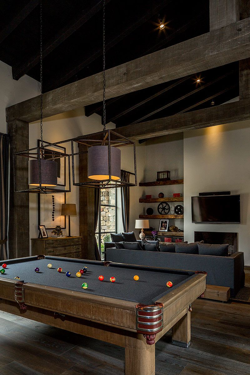 Residencia en valle de bravo sala de juegos galer as de fotos y contexto - Salle de jeux adulte ...
