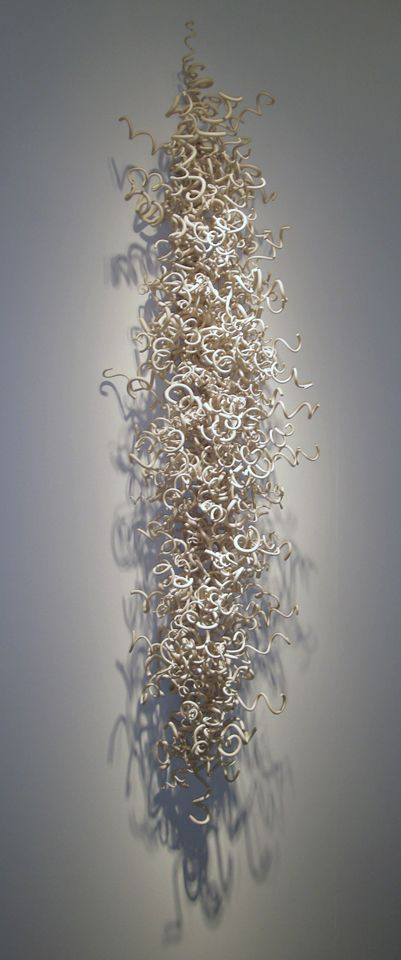 Laurel Lukaszewski   Laurel Lukaszewski is a Washington, DC area based artist who creates installations and sculptures primarily from clay—usually porcelain or stoneware
