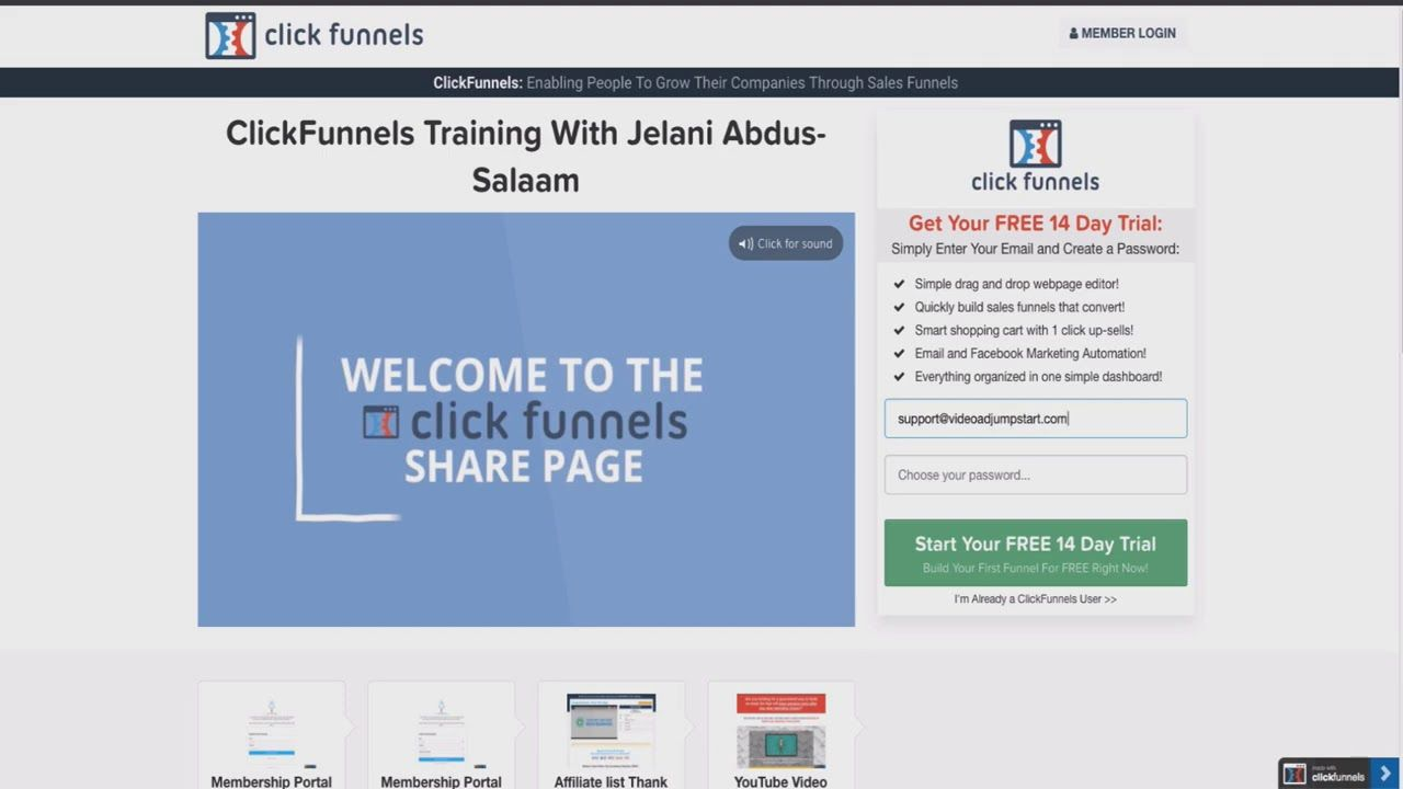 Getting My Clickfunnels 60 Day Trial To Work