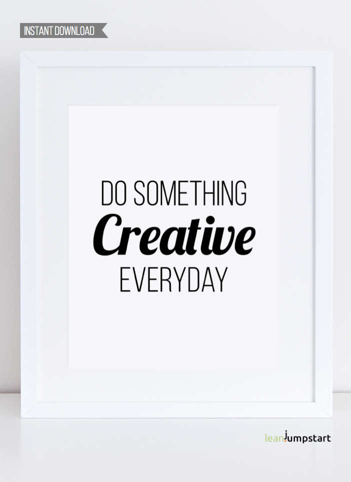 Creativity Quotes Creative Wall Art Creative Art Poster