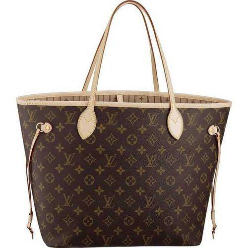 9b4151db072 Soldes Sac Femme Louis Vuitton Monogram Neverfull MM M40156 Pas Cher Et  Nouveaux Online Store