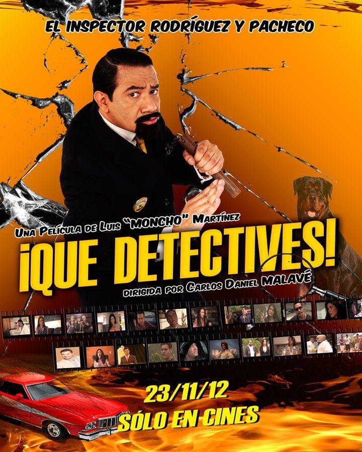 ¡QUE DETECTIVES!, de Carlos Malavé (2012)