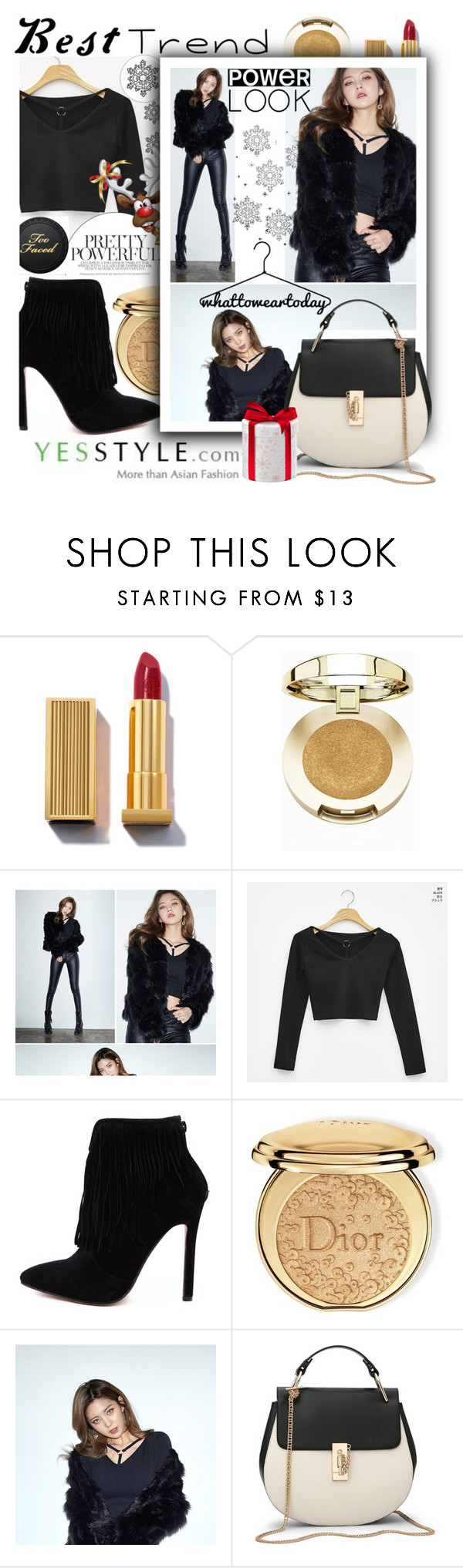 """""""Walk in style with YesStyle shoes!"""" by anin-kutak ❤ liked on Polyvore featuring Milani, chuu and Christian Dior"""