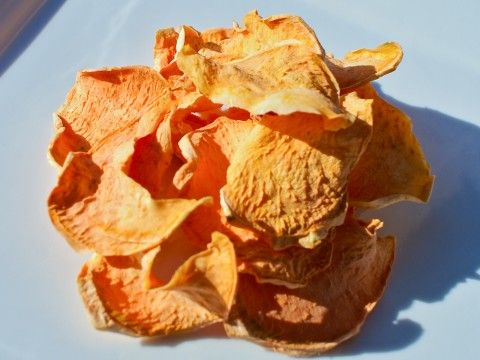 Raw Vegan Snack Recipes. The Rawtarian's Raw Vegan Yam Chips. These are simple and delicious!