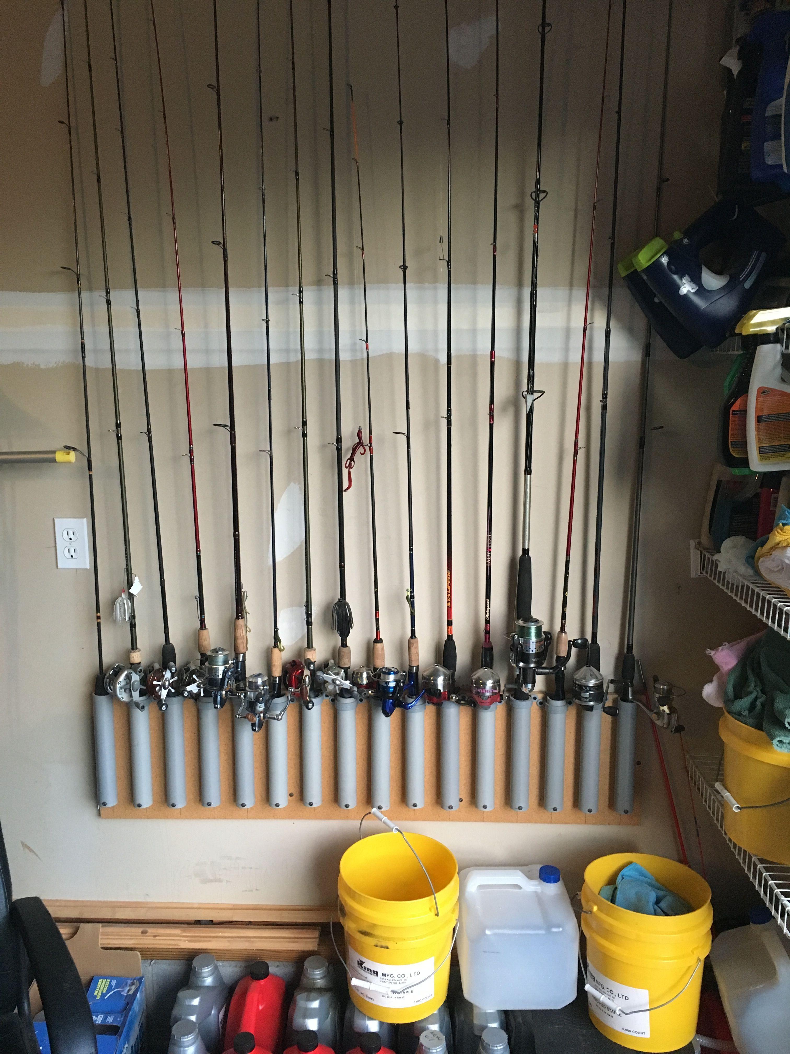Pvc fishing rod holder #fishingrod   Diy fishing rod ...