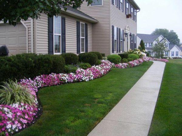 vorgartengestaltung ideen vorschl ge wie sie den vorgarten gestalten vorgarten gestalten. Black Bedroom Furniture Sets. Home Design Ideas