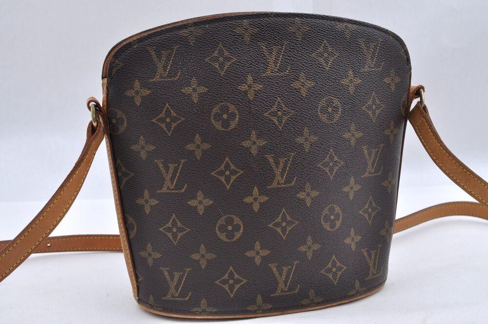 6e740776a993 Authentic Louis Vuitton Monogram Drouot Shoulder Bag M51290 LV 69729   fashion  clothing  shoes  accessories  womensbagshandbags (ebay link)