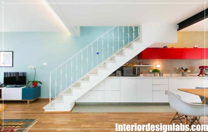 15 Space Saving Kitchen Designs Under The Stairs Designs De
