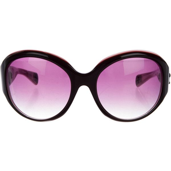 3fb6b821f25e Pre-owned Chrome Hearts Orbi Butterfly Sunglasses (620 CAD) ❤ liked on  Polyvore