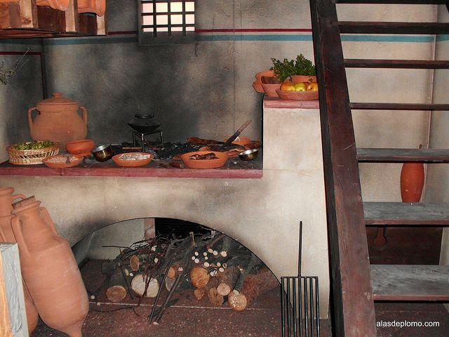 Culina romana roman empire - Cocinas pintadas ...