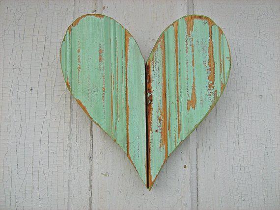 Mint Green Heart