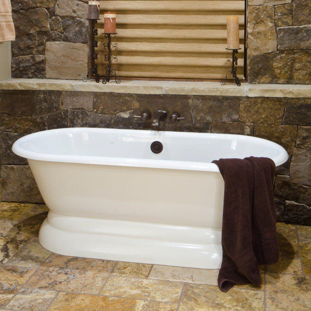 Andolph Morris 60 Inch Cast Iron Double Ended Pedestal Tub Pedestal Tub Vintage Tub Bath Tub