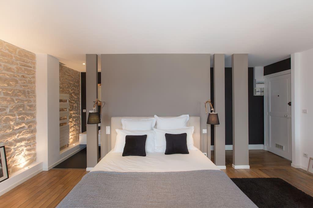 Regardez ce logement incroyable sur Airbnb  Chambre privée de grand - modele chambre a coucher