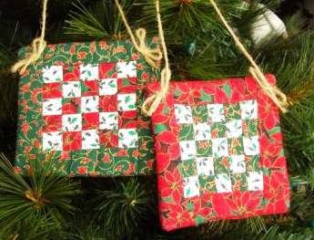 Quilt Ornaments by IamSusie, via Flickr | Quilting - Christmas ... : quilt ornaments - Adamdwight.com