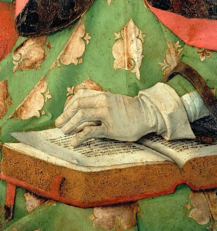 .:. Joos van Gent - Saint Augustine, 1475