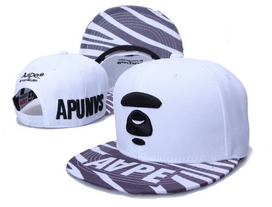 4eb5cf5e30a ... new zealand a bathing ape snapback hats aape hats new era caps white  027 68589 d5f79 ...