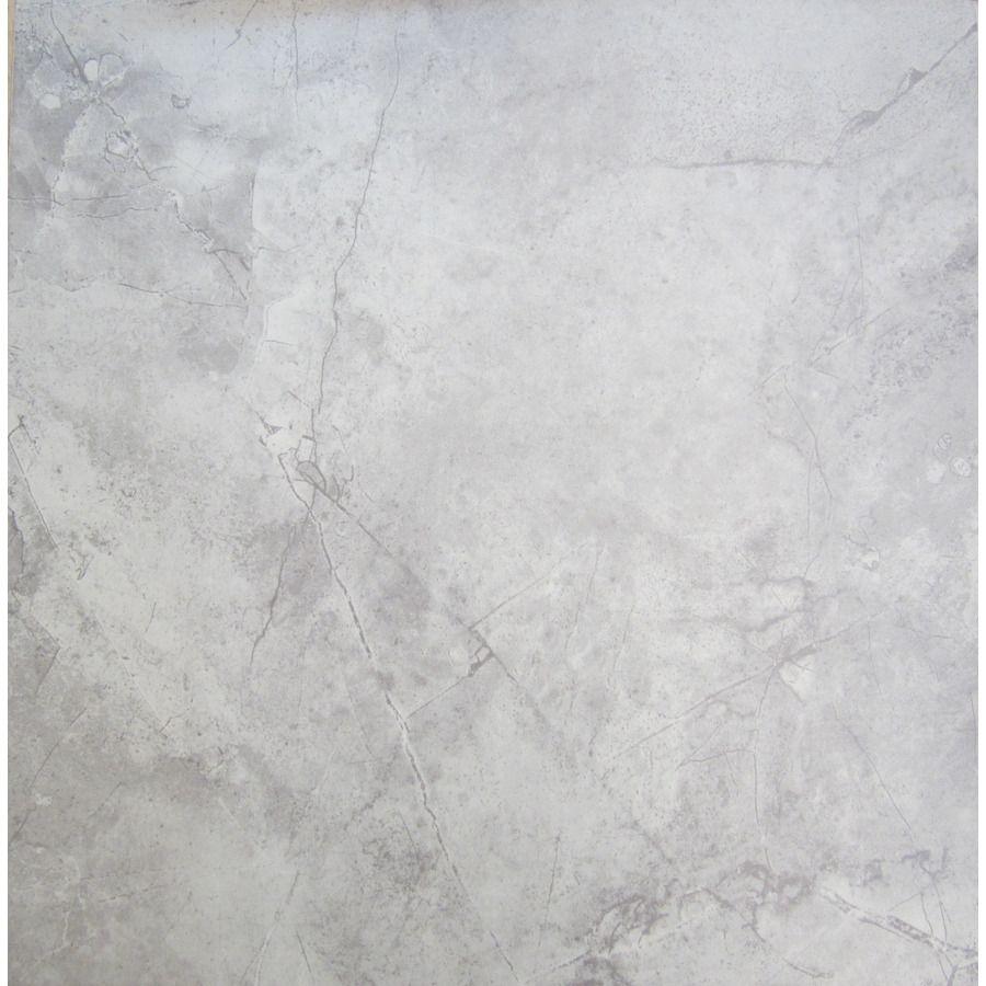 Shop Chilo Grey Ceramic Indooroutdoor Floor Tile Common 18 In X